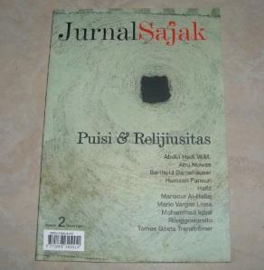 Jurnal sajak - Puisi relijiusitas_